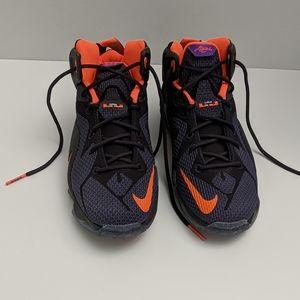 LeBron James youth basketball shoe